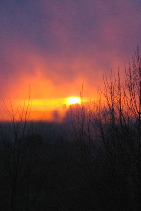 Sunset poem